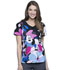 Photograph of Licensed Prints Women V-Neck Top Oops-A-Daisy TF626-MNOO
