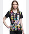 Photograph of Licensed Prints Women's V-Neck Top Alice Tea Time TF627-ALTT