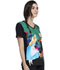 Photograph of Licensed Prints Women V-Neck Top Wonderland Alice TF627-ALWL