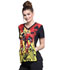 Photograph of Cherokee Licensed Women's V-Neck Top Incredibles 2 TF627-ICII