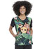 Photograph of Licensed Prints Women V-Neck Top Wild Things TF627-LKWI