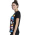 Photograph of Licensed Prints Women V-Neck Top Team Up TF627-MAUP
