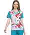 Photograph of Licensed Prints Women's V-Neck Top Ariel Splash TF627-PRSH