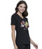 Photograph of Licensed Prints Women's V-Neck Top Holly Jolly Pets TF627-PTOO