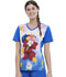 Photograph of Licensed Prints Women V-Neck Top Elmo Flowers TF627-SWMF