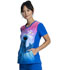 Photograph of Licensed Prints Women V-Neck Top Say Cookies TF627-SWSL