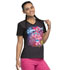 Photograph of Licensed Prints Women V-Neck Top Gimme A Beat TF627-TOGB