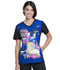 Photograph of Licensed Prints Women's V-Neck Top Trolls Party TF627-TOPT