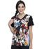 Photograph of Licensed Prints Women V-Neck Top Don't Toy With Me TF627-TSTW