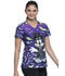 Photograph of Licensed Prints Women V-Neck Top Vamp TF629-MKVAD