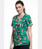 Photograph of Cherokee Licensed Women's V-Neck Top Rudolph Joy TF633-RUJO