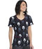 Photograph of Licensed Prints Women V-Neck Top Pop Galaxy TF634-SRAE