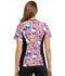 Photograph of Licensed Prints Women's V-Neck Knit Panel Top Color Me Hello Kitty TF636-HKCS