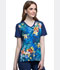 Photograph of Licensed Prints Women's V-Neck Top Minions Samba TF637-DPCO