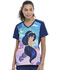 Photograph of Licensed Prints Women V-Neck Top Jasmine Nights TF637-PRGH