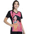 Photograph of Licensed Prints Women V-Neck Top Pocahontas TF637-PRHO
