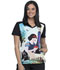 Photograph of Licensed Prints Women V-Neck Top Enchanted TF637-SNEN