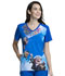 Photograph of Licensed Prints Women V-Neck Top Up TF637-UPPP