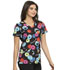 Photograph of Licensed Prints Women V-Neck Top Cookie Mix TF638-SWIX
