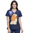 Photograph of Licensed Prints Women's V-Neck Top A Perfect Pair TF639-LAAP