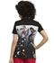 Photograph of Licensed Prints Women V-Neck Top Mulan And Mushu TF639-PRUU