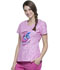 Photograph of Licensed Prints Women V-Neck Top Donut Break TF641-LHDO