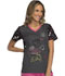 Photograph of Cherokee Licensed Women's V-Neck Top Minnie Confetti TF643-MNCO