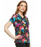 Photograph of Licensed Prints Women's V-Neck Top Ariel's Garden TF646-PRAG