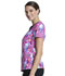Photograph of Licensed Prints Women V-Neck Top Diamond Dance TF646-TODD