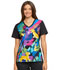 Photograph of Licensed Prints Women's V-Neck Knit Panel Top Simba's Friends TF670-LKFR