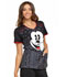 Photograph of Licensed Prints Women's V-Neck Top Moustache TF686-MKTA