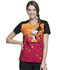 Photograph of Licensed Prints Women's V-Neck Top Snoopy Thanksgiving TF686-PNGV