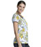 Photograph of Licensed Prints Women V-Neck Top Rumbly Tumbly TF699-PHLY
