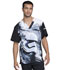 Photograph of Licensed Prints Men's Men's V-Neck Top First Order TF700-SRFO
