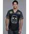 Photograph of Cherokee Licensed Men's Men's V-Neck Top Trooper 77 TF702-SRTSD