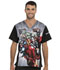 Photograph of Licensed Prints Men Men's V-Neck Top Suit Up TF708-MAIT
