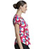 Photograph of Licensed Prints Women Round Neck Top Adopt Today TF744-LHAT