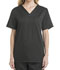 Photograph of ScrubStar Canada Women V-Neck Top Gray WA805-CGWM