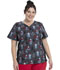 Photograph of ScrubStar Canada Women Women's Flex Printed Top PLAID PARTY WC703X5-PLID