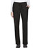 Photograph of ScrubStar Women Women's Brushed Poplin Drawstring Pant Black WD007-BKWM