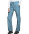 Photograph of ScrubStar Women Women's Brushed Poplin Drawstring Pant Blue WD007-TRWM