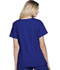 Photograph of ScrubStar Women's Women's Brushed Poplin V-neck Top Blue WD807-EBWM