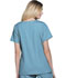 Photograph of ScrubStar Women Women's Brushed Poplin V-neck Top Blue WD807-TRWM