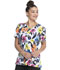 Photograph of ScrubStar Women Women's V-neck Top Botanical Floral WM729X19-BOFR