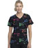 Photograph of ScrubStar Women Women's V-neck Top Boldly Brave WM729X5-BDBR