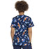 Photograph of ScrubStar Women Women's Mock Wrap Top COSMIC CREATURES WM731X5-CSTE