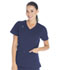 Photograph of ScrubStar Women's Women's Stretch Rayon Mock Wrap Top Blue WM805-RIWM