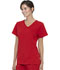 Photograph of Walmart USA Premium Rayon Women Women's Mock Wrap Top Chili Red WM818-CLRE