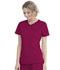 Photograph of Walmart USA Premium Rayon Women's Women's Mock Wrap Top Radiant Red WM818-RAR