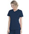 Photograph of Walmart USA Premium Rayon Women Women's Mock Wrap Top Blue WM818-RIWM